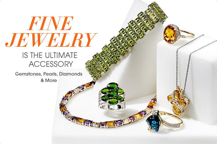 Fine jewelry women 39 s fine jewelry hsn for What is fine jewelry