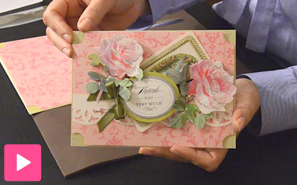Anna griffin high quality scrapbooking kits card making for Craft supplies for card making