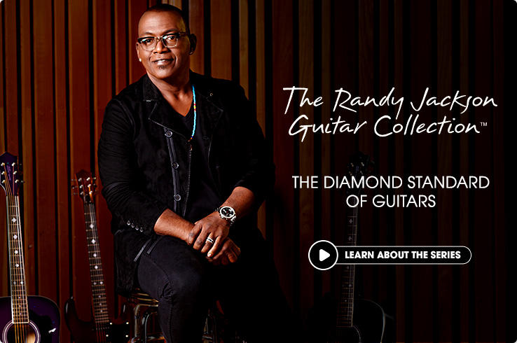 Randy Jackson Guitars - Acoustic & Electric Guitars from Randy ...