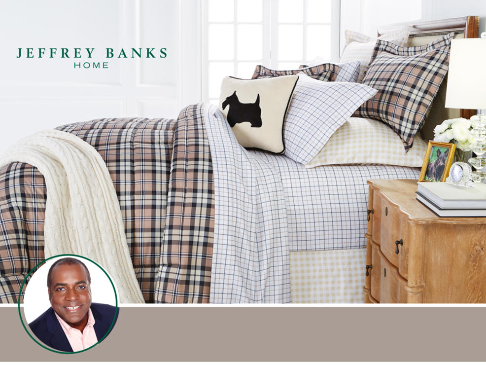 Jeffrey Banks Designer Clothing, Bedding & Home Decor