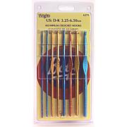 8 Crochet Hooks with Gift Box - Various Sizes