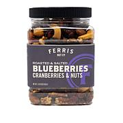 Ferris (3) 1 lb. Jars Berries & Nuts - Roasted & Salted