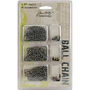 Tim Holtz Idea-Ology 5mm Bead Chain with Connectors