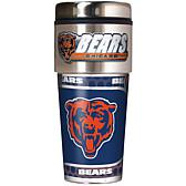NFL Travel Tumbler with Metallic Graphics and Team Logo