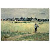 Berthe Morisot 'In the Wheatfields' Giclee Print
