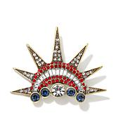 "Heidi Daus ""Crowning Glory"" Crystal Pin"