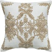India Hicks Island Living Ship's Rigging Square Pillow