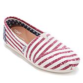 TOMS Classic Americana Canvas Slip-On