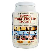 Andrew Lessman Ultimate Whey Protein Isolate