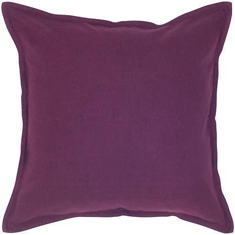 20 Quot X 20 Quot Plain Pillow Purple 6763079 Hsn
