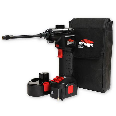 Air hawk pro cordless air compressor 8293621 hsn for Can i use motor oil in my air compressor