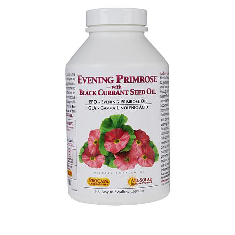 Andrew Lessman Evening Primrose, Black Currant Seed Oil