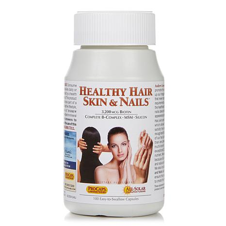 Andrew Lessman Healthy Hair, Skin & Nails - 100 Caps
