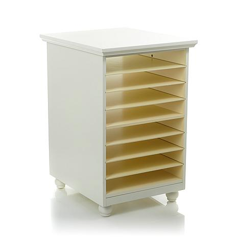 Anna GriffinR Craft Room Paper Storage Desk Base