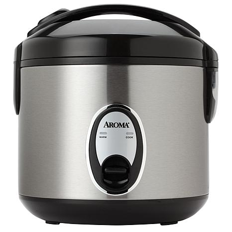 Aroma 8-Cup Stainless Steel Rice Cooker - 7224066 | HSN