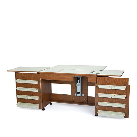 Bertha Sewing Table - Oak