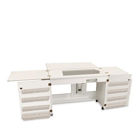 Bertha Sewing Table - White