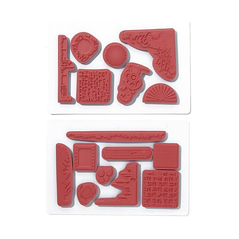 Crafter's Companion Elements Stamp Set - 8167153 | HSN