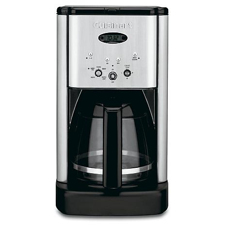 Cuisinart Brew Central Programmable 12-Cup Coffee Maker - Stainless Steel - 7736041 HSN