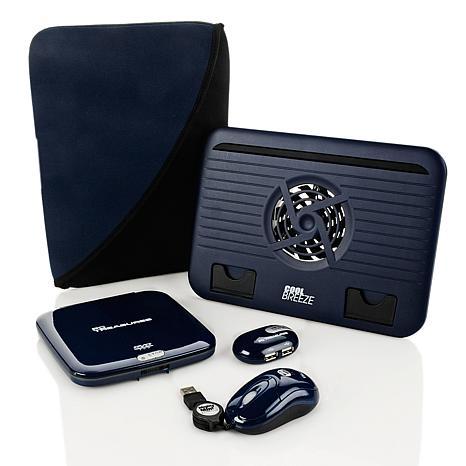 ... accessories Cases  Bags Deluxe Netbook Accessory Kit - Navy Blue