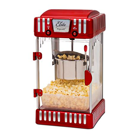 elite classic tabletop kettle popcorn maker 7332728 hsn. Black Bedroom Furniture Sets. Home Design Ideas