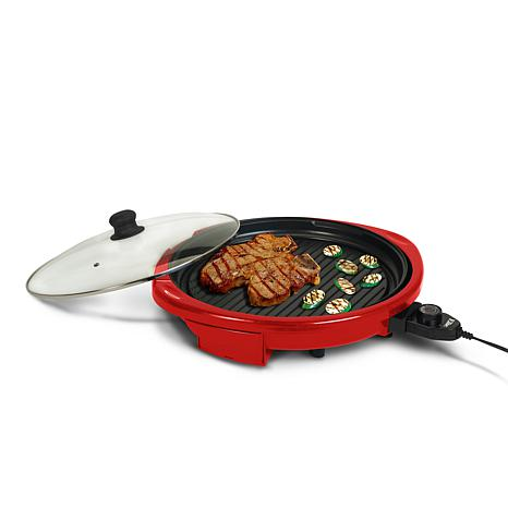 Elite gourmet 14 round indoor grill with glass lid d 20141223183153713~1144661