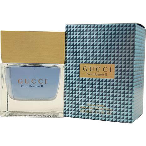 gucci pour homme ii by gucci eau de toilette spray for 3 3 oz 7679830 hsn