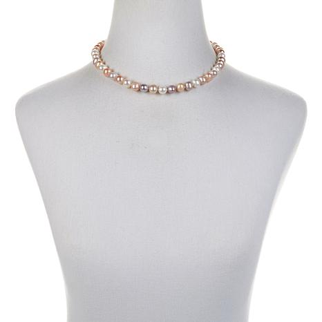 """Imperial Pearls Multicolor Cultured Pearl 18"""" Necklace"""