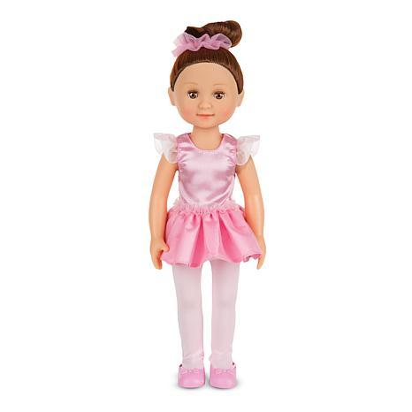 "victoria 14"" ballerina doll 7010855 | hsn"