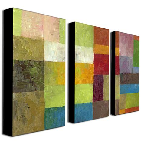 "Michelle Calkins ""Abstract Color Panels IV"" Prints"