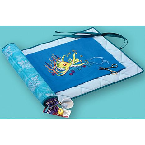Needlework Project Keeper - Turquoise with