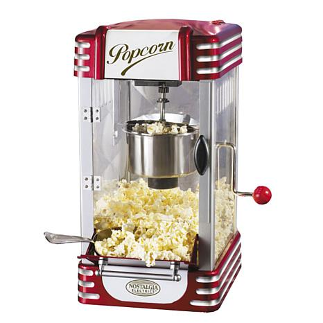 retro kettle popcorn maker 3828526 hsn. Black Bedroom Furniture Sets. Home Design Ideas