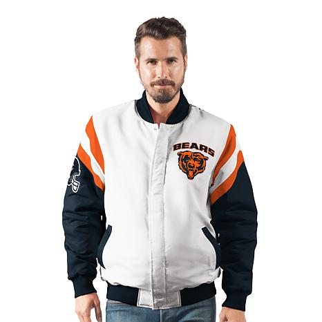 7a6437ffb4b Officially Licensed NFL Men's Commander Varsity Jacket by Glll ...