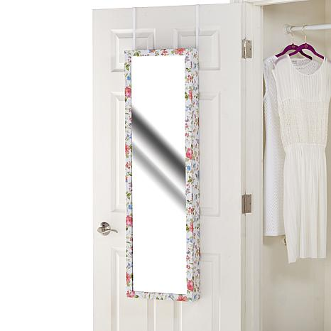 Over The Door Jewelry Armoire With Full Length Mirror Hsn