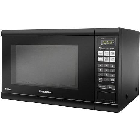 Hsn Countertop Oven : Panasonic 1.2 Cu. Ft. 1200W Countertop Microwave Oven with Inverter ...