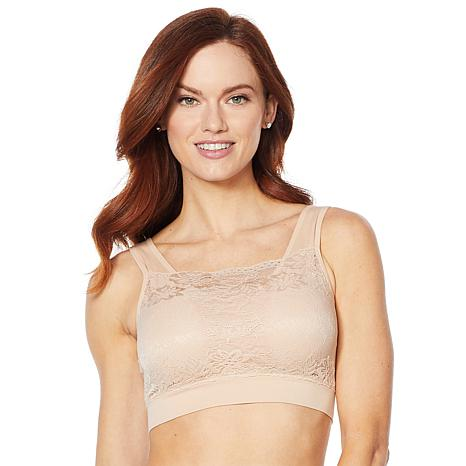 f1732346d6 Rhonda Shear Pin Up Lace Overlay Bra 3-Pack  (Pick Your Size and Color )