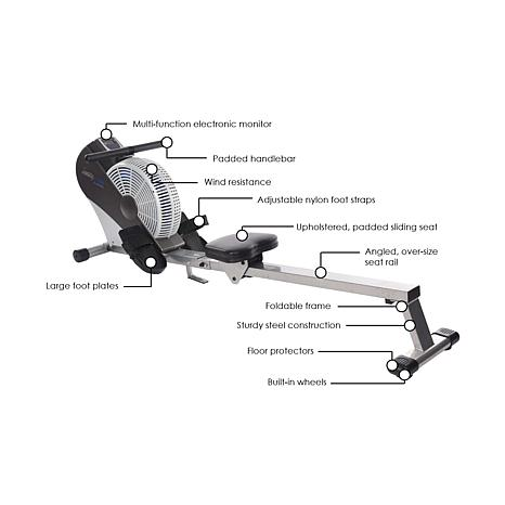 stamina 1399 air rower machine reviews