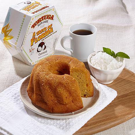 Tortuga Tortuga Golden Rum Cake & Coconut Rum Cake Duo