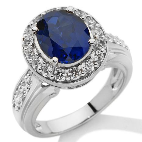 Victoria Wieck 4.58ct Absolute™ Created Sapphire Ring