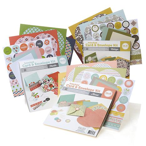 We R Memory Keepers Interfold Card and Envelope Kit