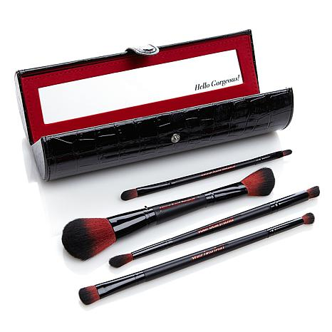 ybf Double-ended Brush Set with Black Carry Case