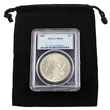 1887 MS63 PCGS P-Mint Morgan Silver Dollar