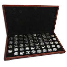 1999-2009 Silver Proof Quarters with Display Box