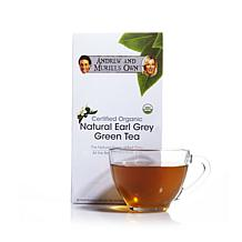 Andrew & Muriel's Organic Earl Grey Green Tea 30 Packet