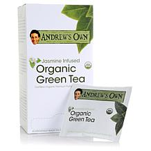 Andrew's Own Jasmine Infused Organic Green Tea -30 pack