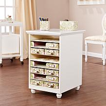 Anna Griffin® Craft Room Paper Storage Desk Base
