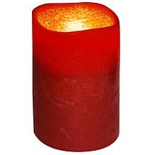 "Brite Star 3"" x 4"" Flameless Candle - Brown Copper"