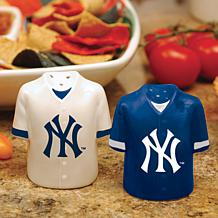 Ceramic Salt and Pepper Shakers - New York Yankees