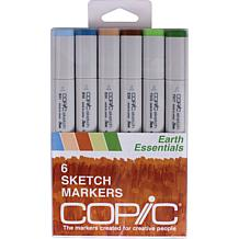 Copic Sketch Markers 6-pack - Earth Essentials