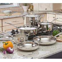 Cuisinart Chef's Classic 10pc Stainless Cookware Set